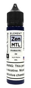 E-Liquido ELEMENT MTL Zen 60ML