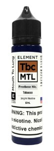 E-Liquido ELEMENT MTL Tobacco 60ML