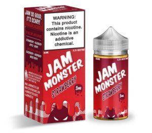 E-Liquido JAM MONSTER Strawberry 100ML