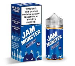 E-Liquido JAM MONSTER Blueberry 100ML