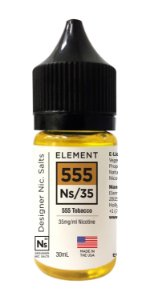 E-Liquido ELEMENT Salt 555 Tobacco 30ML