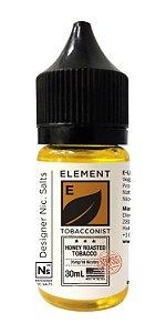 NicSalt ELEMENT TOBACCONIST Honey Roasted Tobacco 30ML