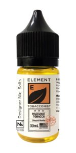 E-Liquido ELEMENT TOBACCONIST Salt Hazelnut Tobacco 30ML