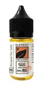 NicSalt ELEMENT TOBACCONIST Hazelnut Tobacco 30ML
