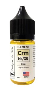 E-Liquido ELEMENT Salt Crema 30ML