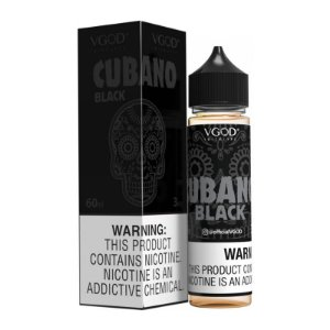 E-Liquido VGOD Cubano Black 60ML