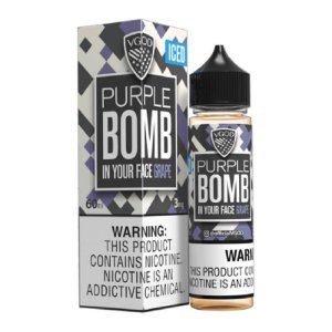 E-Liquido VGOD BOMB SERIES Purple ICED 60ML