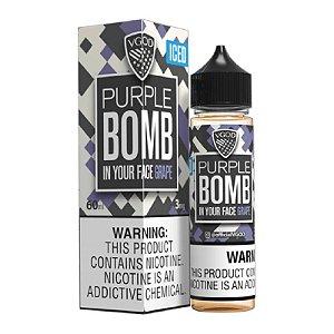 E-Liquido VGOD BOMB SERIES Purple ICED 60ML