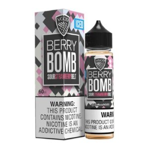 E-Liquido VGOD BOMB SERIES Berry ICED 60ML