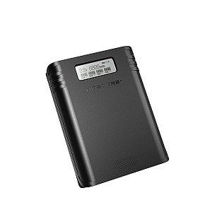 Carregador e Power Bank de Baterias NITECORE F4 para 4 Baterias