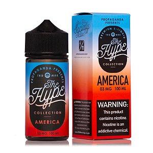 E-Liquido THE HYPE COLLECTION America 100ML