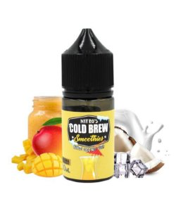 E-Liquido NITRO'S COLD BREW SMOOTHIES Mango Coconut Surf 30ML