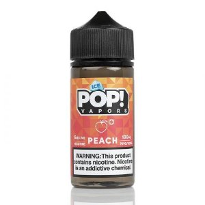 E-Liquido POP! VAPORS Peach ICE 100ML