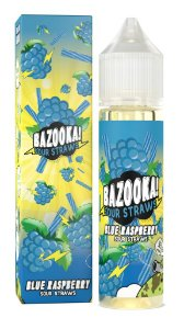 E-Liquido BAZOOKA! SOUR STRAWS Blue Raspberry 60ML