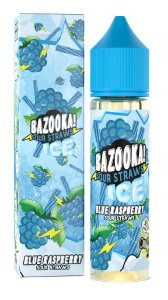 E-Liquido BAZOOKA! SOUR STRAWS Blue Raspberry Ice 60ML
