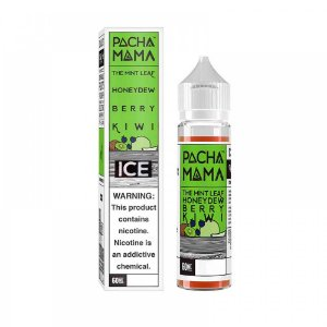 E-Liquido PACHA MAMA The Mint Leaf Honeydew Berry Kiwi ICE 60ML