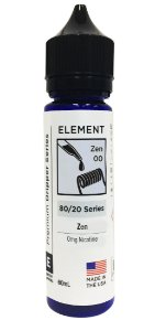 E-Liquido ELEMENT DRIPPER Zen 60ML