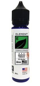 E-Liquido ELEMENT TOBACCONIST Absinthe Tobacco 60ML