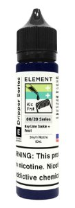 E-Liquido ELEMENT EMULSIONS Key Lime Cookie + Frost 60ML