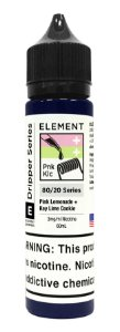 E-Liquido ELEMENT EMULSIONS Pink Lemonade + Key Lime Cookie 60ML