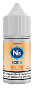 NicSalt ELEMENT SubZero Fresh Squeeze 30ML