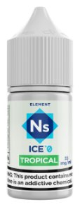 NicSalt ELEMENT SubZero Tropical 30ML