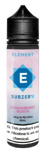 E-Liquido ELEMENT SubZero Strawberry Guava 60ML