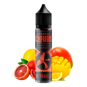E-Liquido COASTAL CLOUDS DEEP SEA SERIES The Traveler 60ML