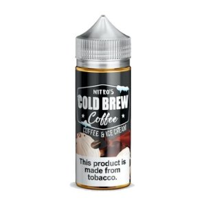 E-Liquido NITRO'S COLD BREW COFFEE Coffee & Ice Cream 100ML