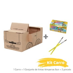 Kit Carro para Colorir