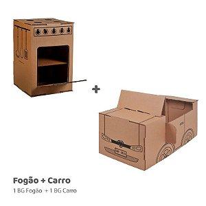 Fogão + Carro