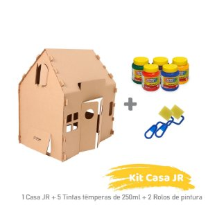 Kit Casa Jr para Colorir