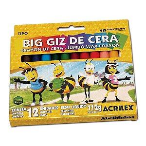 Big Giz de Cera 112g c/ 12 unidades
