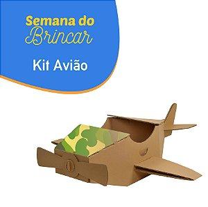 Kit Avião - Semana do Brincar
