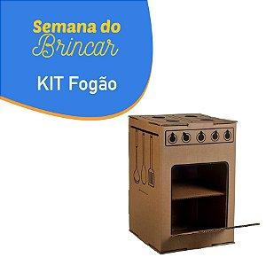 Kit Fogão - Semana do Brincar