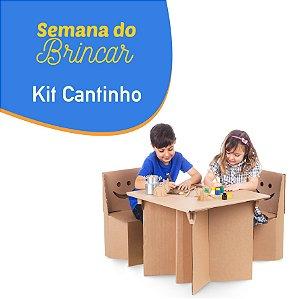 Kit Cantinho - Semana do Brincar