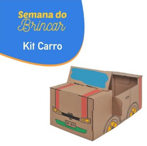 Kit Carro - Semana do Brincar