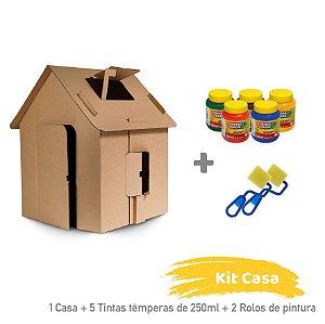 Kit Casa para Colorir