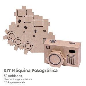 Kit Máquina Fotográfica - 50 unidades