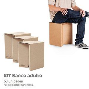 Banco Adulto Adulto - 50 unidades