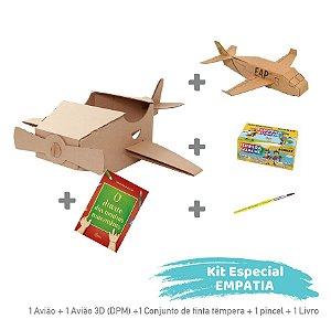 Kit Avião - Aprender e Brincar