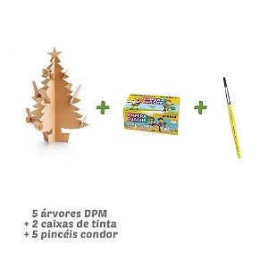 Kit Árvore de Natal DPM - 5 unidades