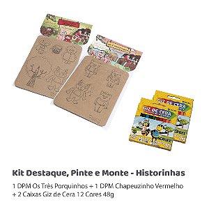 Kit DPM - Historinhas
