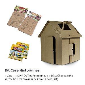 Kit Casa Historinhas