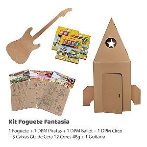Kit Foguete Fantasia