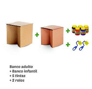 Kit Bancos - Tal pai, tal filho (a)
