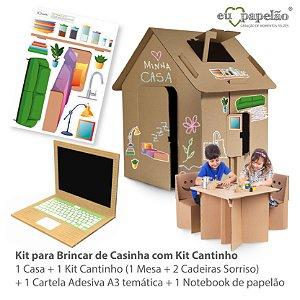 KIT PARA BRINCAR DE CASINHA COM KIT CANTINHO