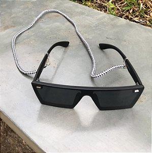 Cordinha para óculos náutica branca