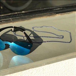 Cordinha corrente azul para óculos