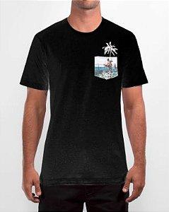 Camiseta Especial Rip Curl Funny Pocket - Black